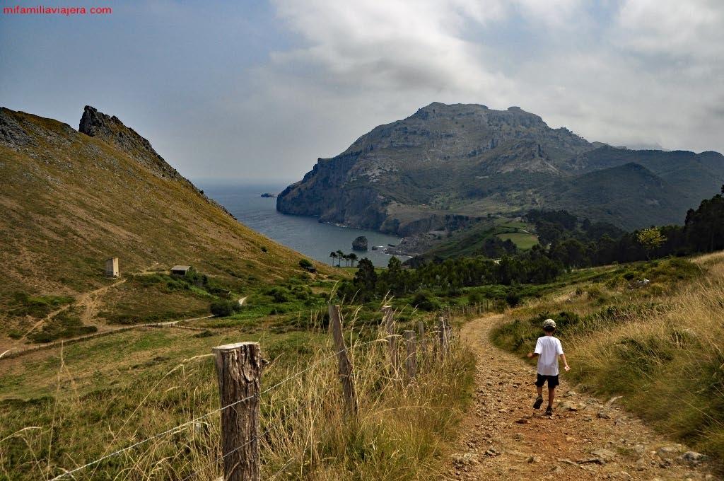 Ruta hacia la Playa de San Julián