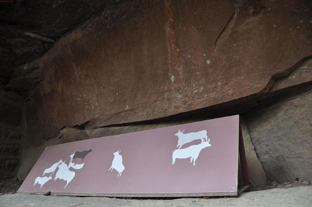 "Pinturas rupestres ""Cocinilla del Obispo"""