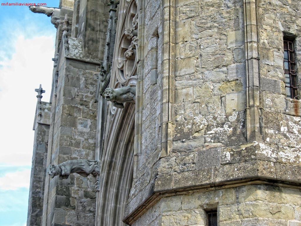 Gárgolas de la Catedral de Carcasona