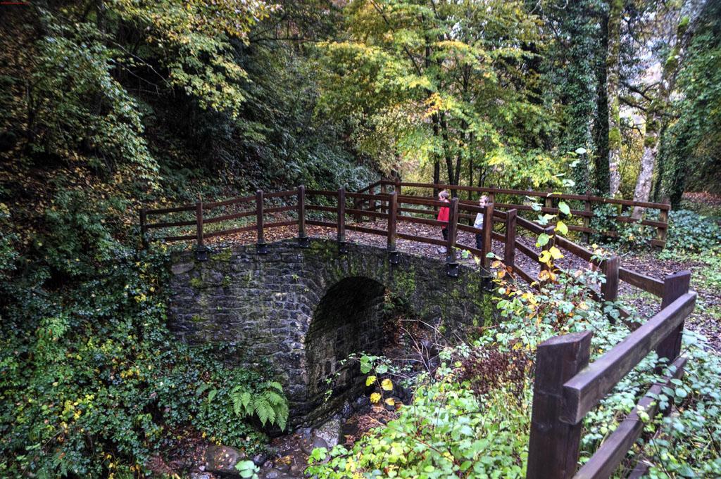 Puente de piedra de Soto de Sajambre