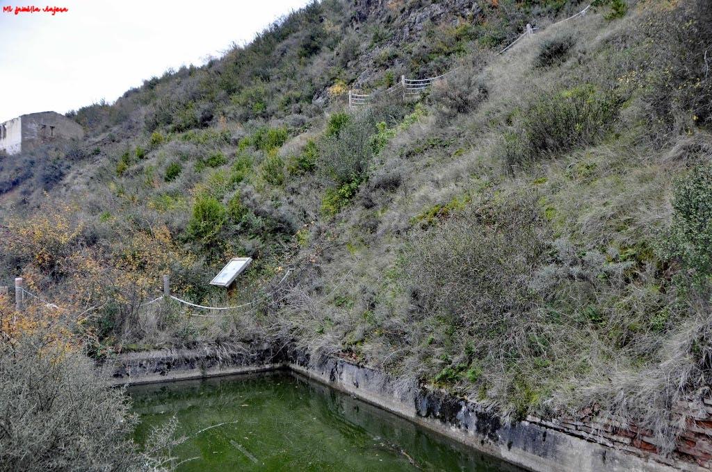 Zona principal de las minas