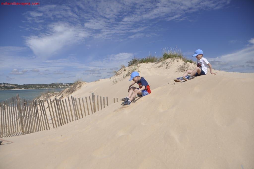 Ecosistema dunar de la playa de Alvor