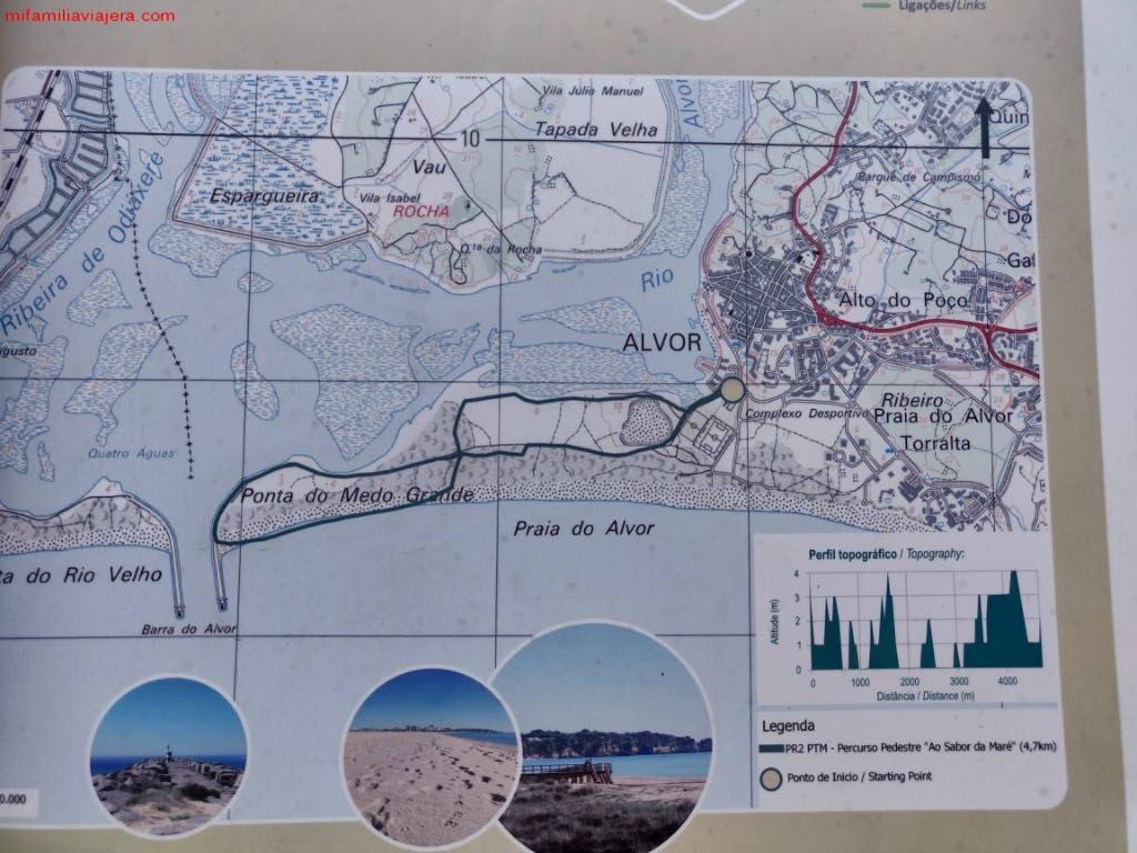 Itinerario de Ao Sabor da Maré
