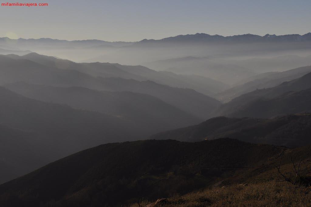 Vistas desde la cumbre del Pico Tres Concejos