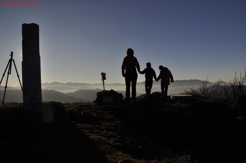 Atardecer en el Pico Tres Concejos
