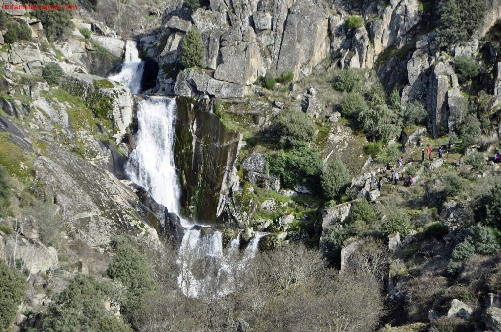 Cascada de las Lanchas de Aguas Bravas desde el mirador
