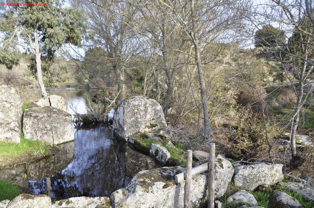 Puente sobre el arroyo de la Rivera