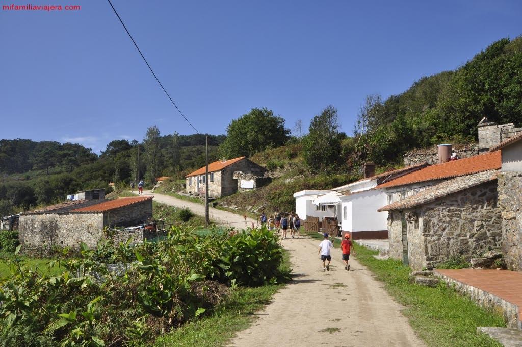Edificaciones del Barrio de Canexol y Pereiró