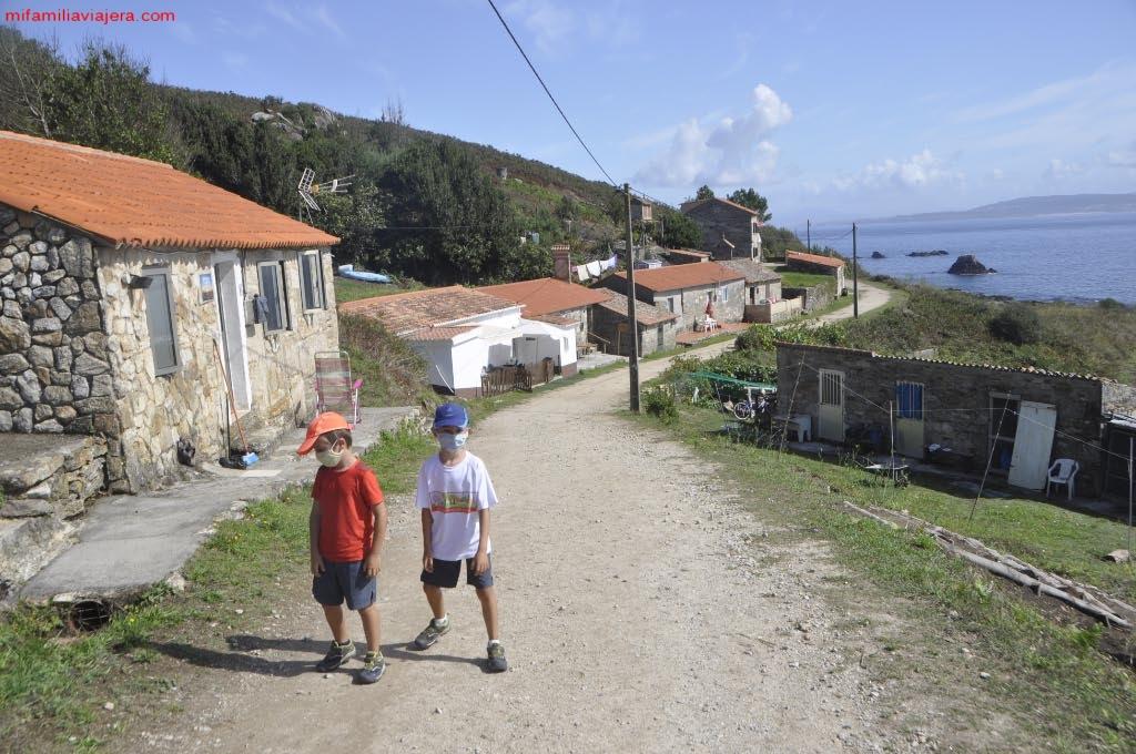 Calles del Barrio de Canexol y Pereiró