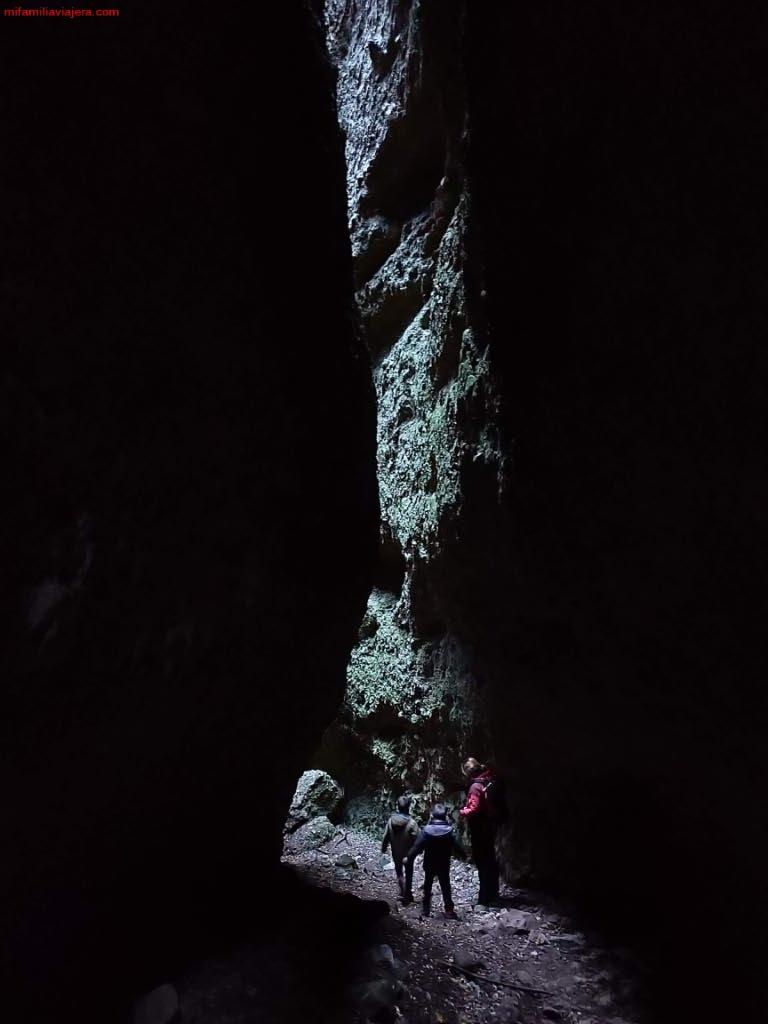 Grieta en el Barranco de Badén