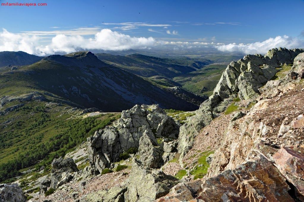 Vistas hacia el Parque Natural de Las Batuecas – Sierra de Francia