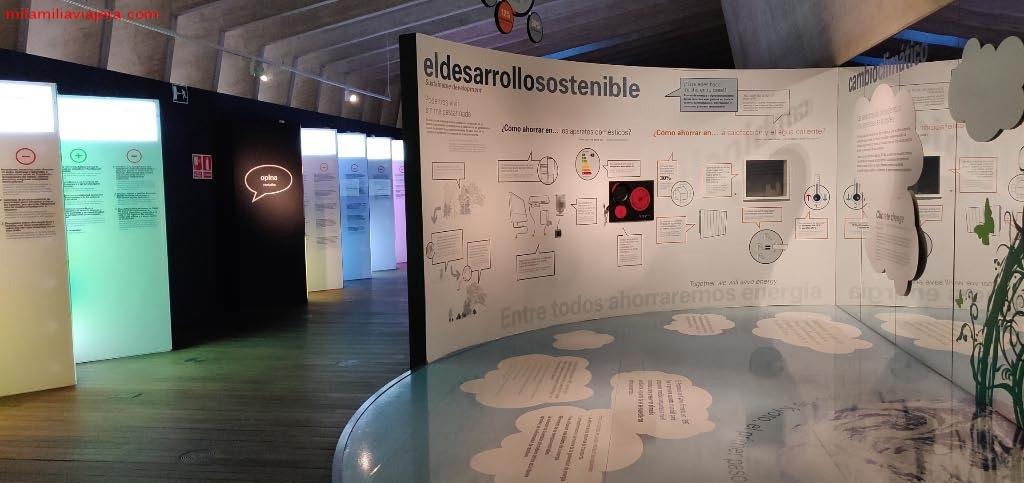 Exposición desarrollo sostenible