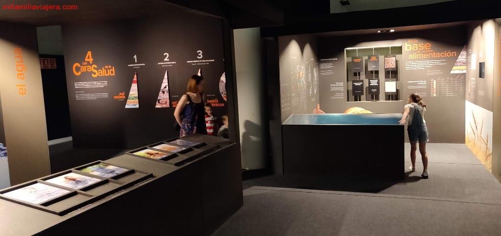 Exposición sobre el agua