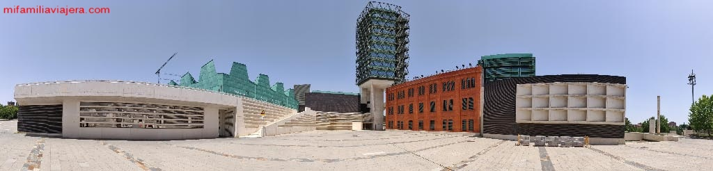 Panorámica del Museo de la Ciencia de Valladolid