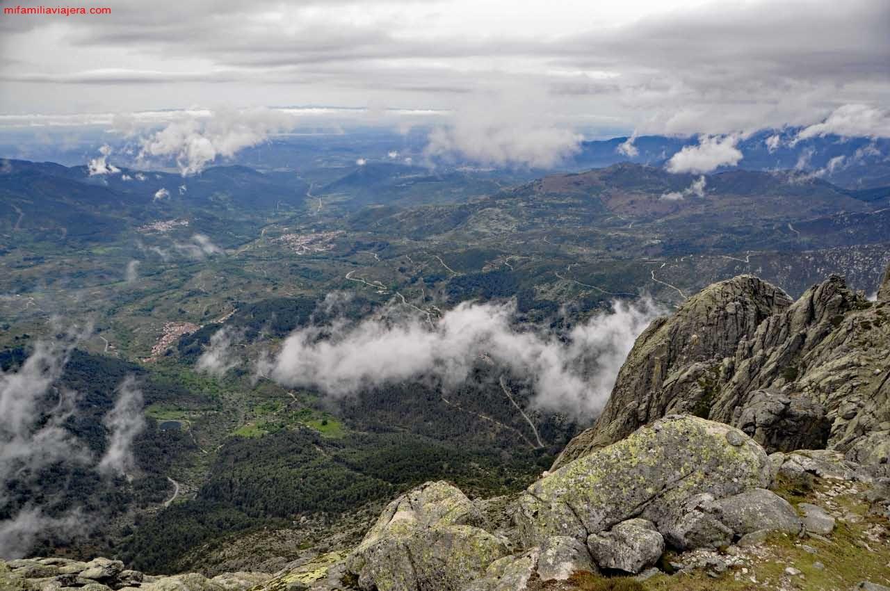 Panorámicas del valle desde la cumbre del Torozo