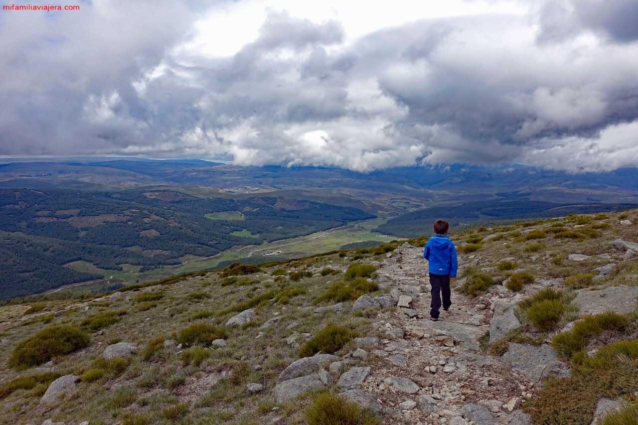 Descenso hacia el valle